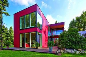 Max-Haus - Max-Haus Design S Außenansicht Garten2