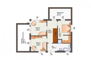 Bärenhaus Haus Fine Arts 172 - Grundriss DG
