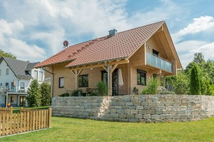 Fullwood - Haus Mittelfranken - Gartenseite