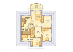 VarioSelf Haus Vario Toscana 185 - Grundriss DG