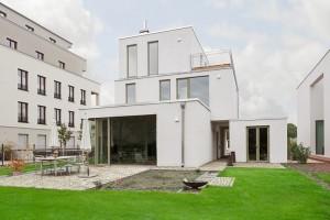 Kosima Haus - Architektenhaus - Gartenseite