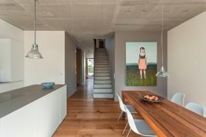 Kosima Haus - Architektenhaus - Flur mit Treppe