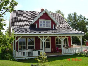 Akost GmbH - Haus Arne 100 Terrasse