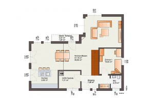 Bärenhaus Haus Fine Arts 172 - Grundriss EG