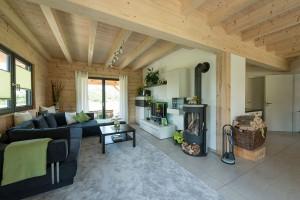 Fullwood - Haus Mittelfranken - Wohnbereich