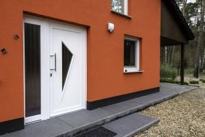 HS Massivhaus Haus Borkwalde - Eingang