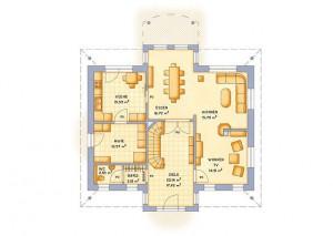 VarioSelf Haus Vario Toscana 185 - Grundriss EG