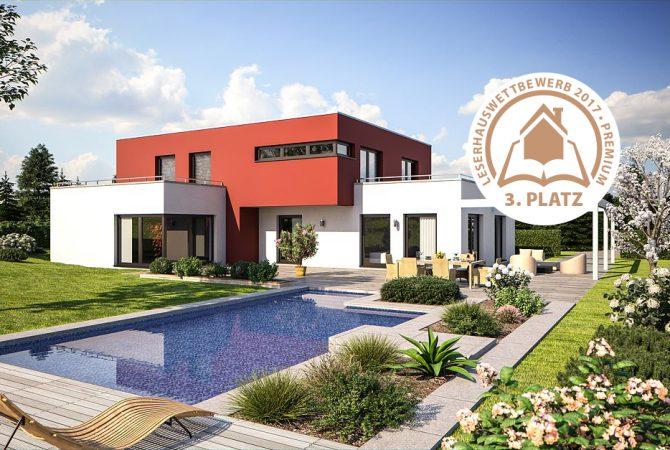 Bärenhaus Haus Fine Arts 172 - Terrasse mit Pool