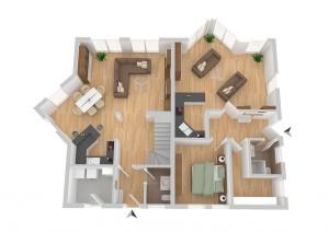 FIBAV Immobilien GmbH - Stadthaus Lübeck - Grundriss Erdgeschoss