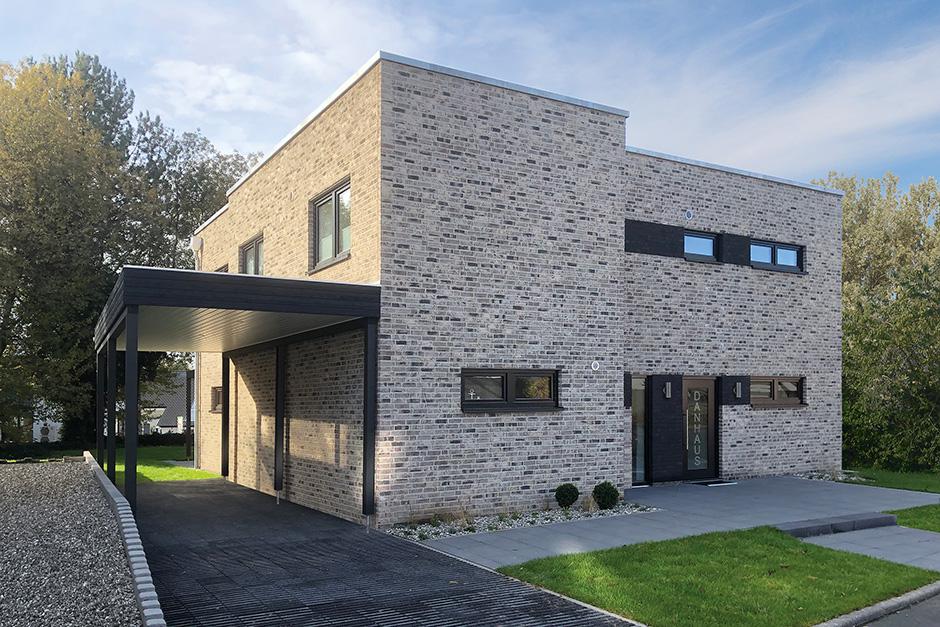Danhaus GmbH, Das 1Liter-Haus Silkeborg, Eingang